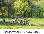bucharest  romania   may 08 ... | Shutterstock . vector #276676358