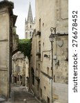 street of french medieval... | Shutterstock . vector #276678452