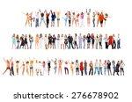 together we celebrate team... | Shutterstock . vector #276678902