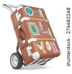Retro Luggage. Vintage Suitcase ...