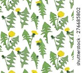 Dandelion Flower Pattern