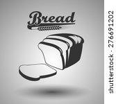 bread icon   Shutterstock .eps vector #276691202