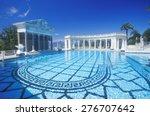Neptune Pool At Hearst Castle ...