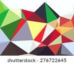 polygon lowpoly abstract... | Shutterstock . vector #276722645