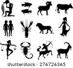 zodiac signs | Shutterstock .eps vector #276726365