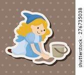 fairytale princess   cartoon... | Shutterstock . vector #276735038