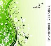 spring card | Shutterstock .eps vector #27673813