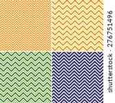 Set Of Chevron Patterns