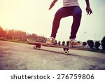 young skateboarder... | Shutterstock . vector #276759806