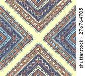 tribal vintage ethnic seamless... | Shutterstock .eps vector #276764705