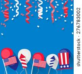 4 july independence day festive ... | Shutterstock .eps vector #276783002