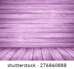 Old Wooden Wall. Purple...
