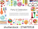 party and celebration elements... | Shutterstock . vector #276870518