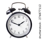classic alarm clock isolated on ... | Shutterstock . vector #276877112
