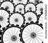 bicycle wheel vector  bike...   Shutterstock .eps vector #276888362