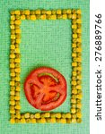 Background Of Peas And Corn An...