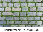 Old Cobblestone Background Wit...