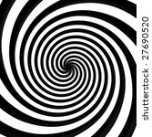 Black And White Spiral...