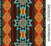 abstract  ethnic pattern with... | Shutterstock .eps vector #276934268