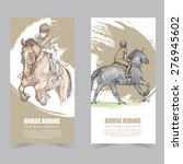 vector template banners.... | Shutterstock .eps vector #276945602