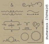 vector set nautical elements of ...   Shutterstock .eps vector #276946145