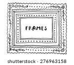 vintage vector set of... | Shutterstock .eps vector #276963158