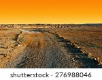 dirt road in the rocky hills of ... | Shutterstock . vector #276988046