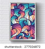 art abstract painting picture... | Shutterstock .eps vector #277026872