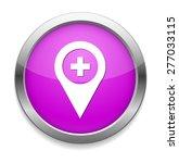 map pin button   Shutterstock .eps vector #277033115