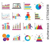 business data market elements... | Shutterstock .eps vector #277036358