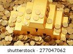 gold ingots | Shutterstock . vector #277047062