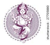Ethnic Image With Indian Idol