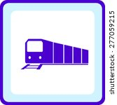 icon of a train | Shutterstock .eps vector #277059215
