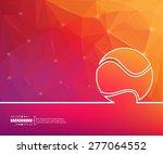 abstract creative concept... | Shutterstock .eps vector #277064552