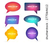 abstract creative concept...   Shutterstock .eps vector #277064612