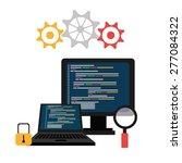 software design over white... | Shutterstock .eps vector #277084322