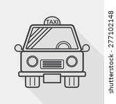 transportation taxi flat icon... | Shutterstock .eps vector #277102148