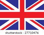 british flag | Shutterstock .eps vector #27710476
