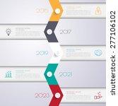 design multicolor number... | Shutterstock .eps vector #277106102