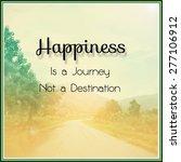 inspirational motivational life ... | Shutterstock . vector #277106912