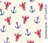 Lobster Vector Pattern Design
