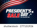presidents day sale | Shutterstock .eps vector #277131926
