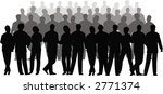 business crowd vector | Shutterstock .eps vector #2771374