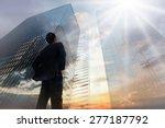 businessman standing with hands ... | Shutterstock . vector #277187792