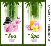 Vector Banners On Spa Theme...