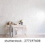brick wall interior | Shutterstock . vector #277197608