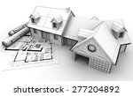 3d rendering of a house project ... | Shutterstock . vector #277204892