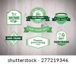 digitally generated fair trade... | Shutterstock .eps vector #277219346