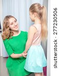 young mother looking proudly at ... | Shutterstock . vector #277230506