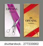 elegant big opening invitation... | Shutterstock .eps vector #277233002